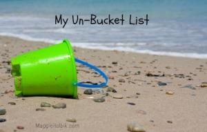 my un-bucket list red