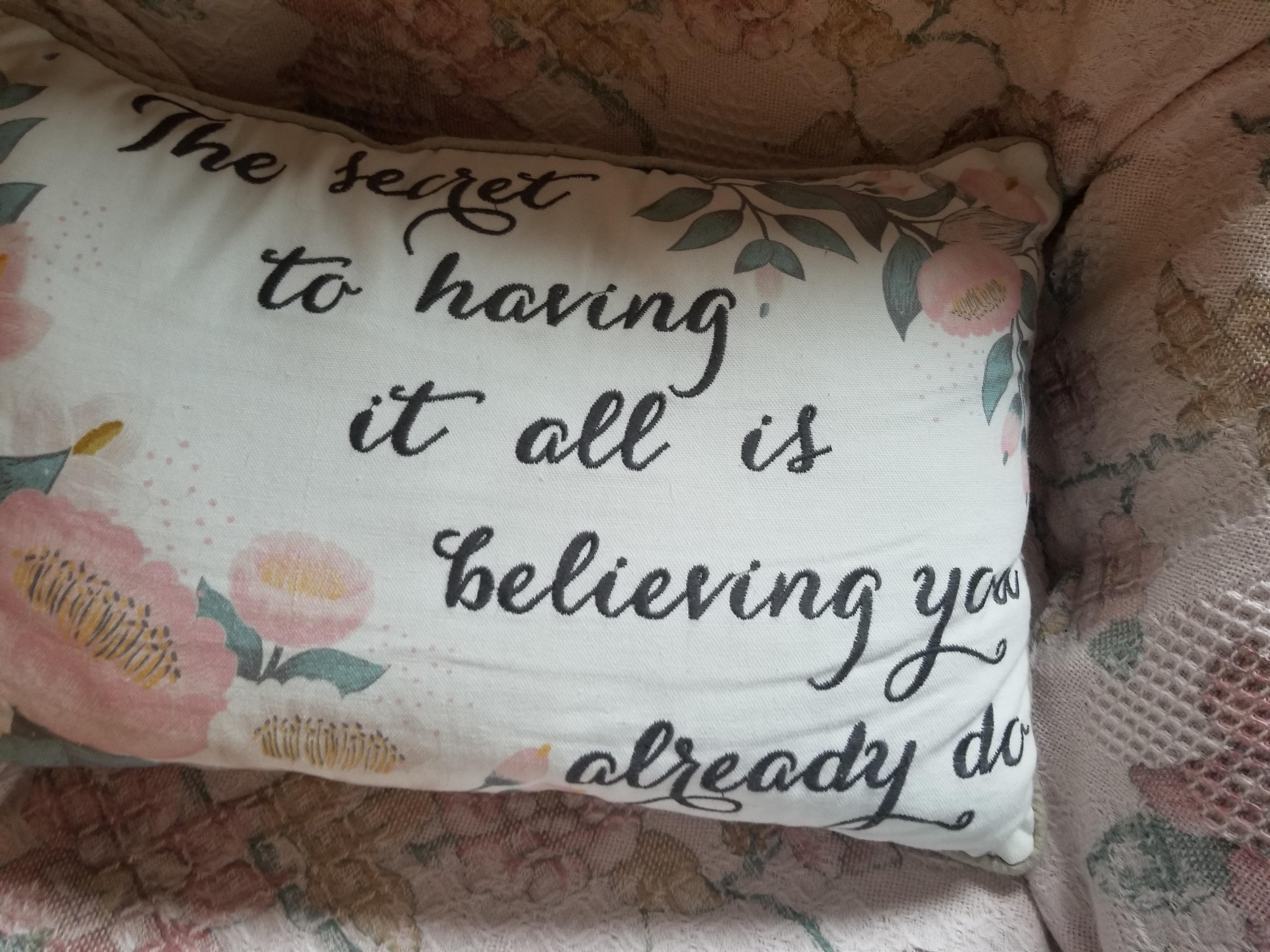 t pillow